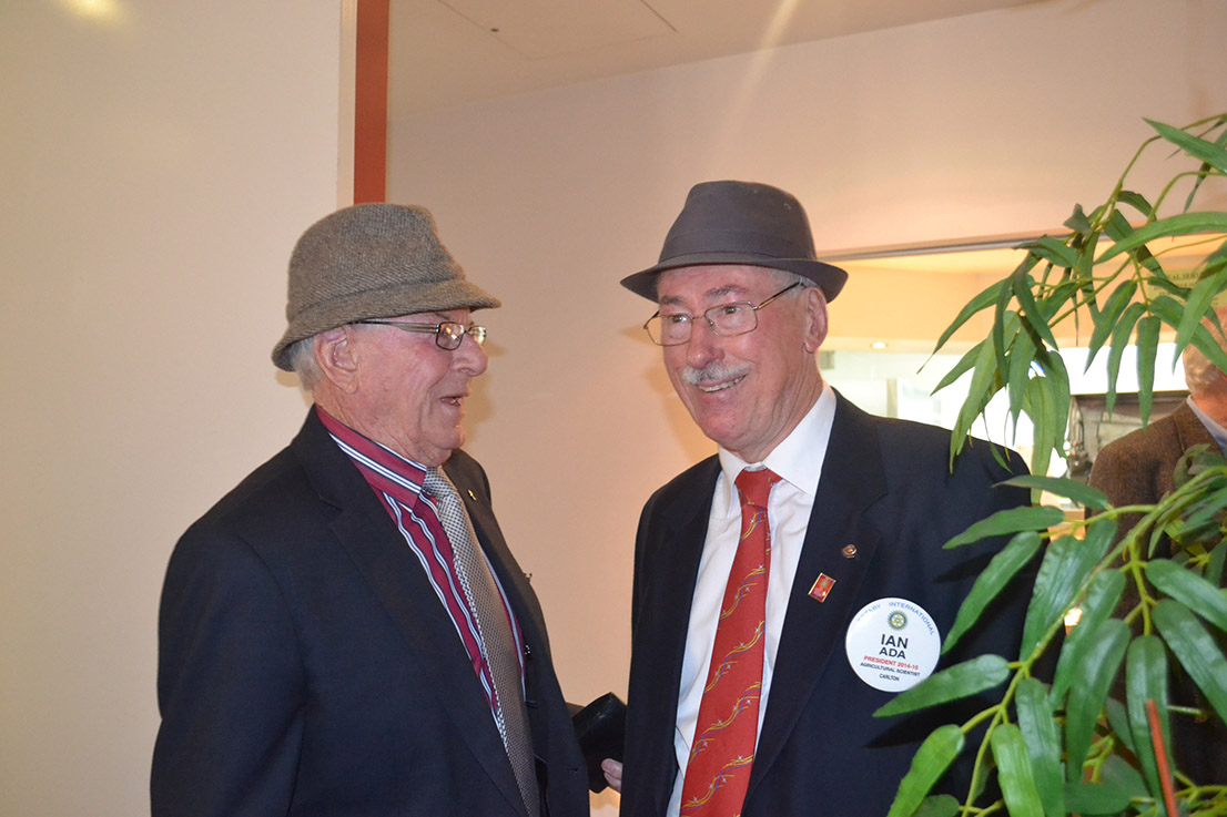 Carlton Rotary Hat Day
