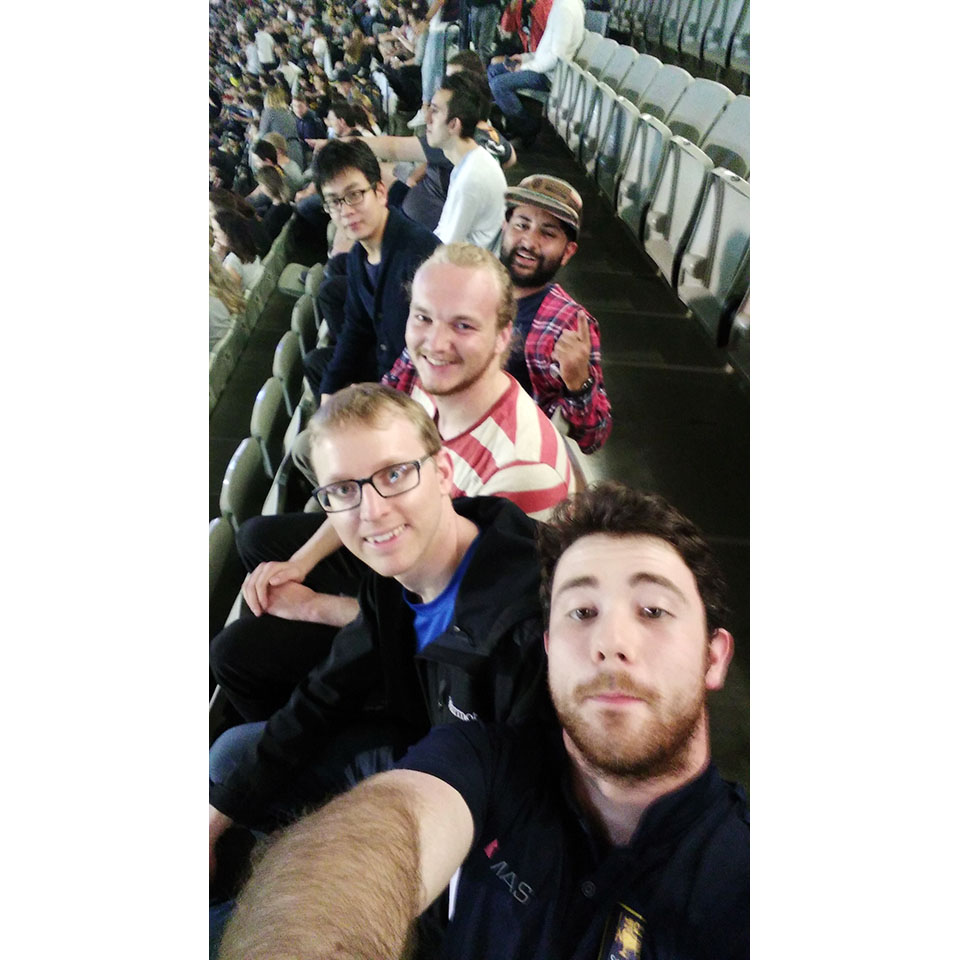 Resident Members AFL game (1)