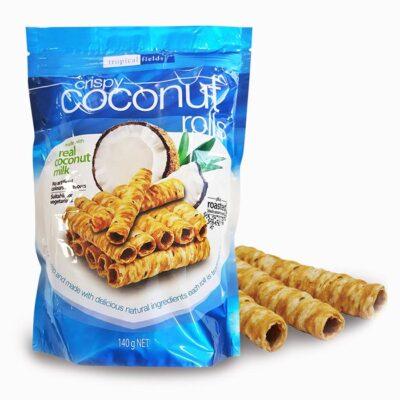 Crispy cocount rolls